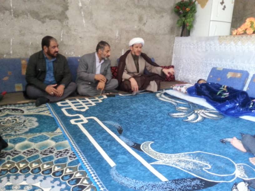 سرکشی امام جمعه کارون از خانواده های بی بضاعت