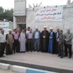 دیدار مسئولین ستادعتبات عالیات کشور و استان با امام جمعه شهرستان کارون