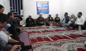 جلسه قرارگاه فرهنگی مناطق سیل زده شهرستان کارون
