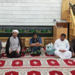 حضور امام جمعه کارون در موکب اعزامی ازتهران