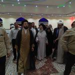 بازدید آیت الله موسوی جزایری،نماینده ولی فقیه در خوزستان از مناطق سیل زده شهرستان کارون