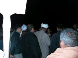 گزارش تصویری/بازدید شبانه امام جمعه کارون از مناطق سیل زده شهرستان