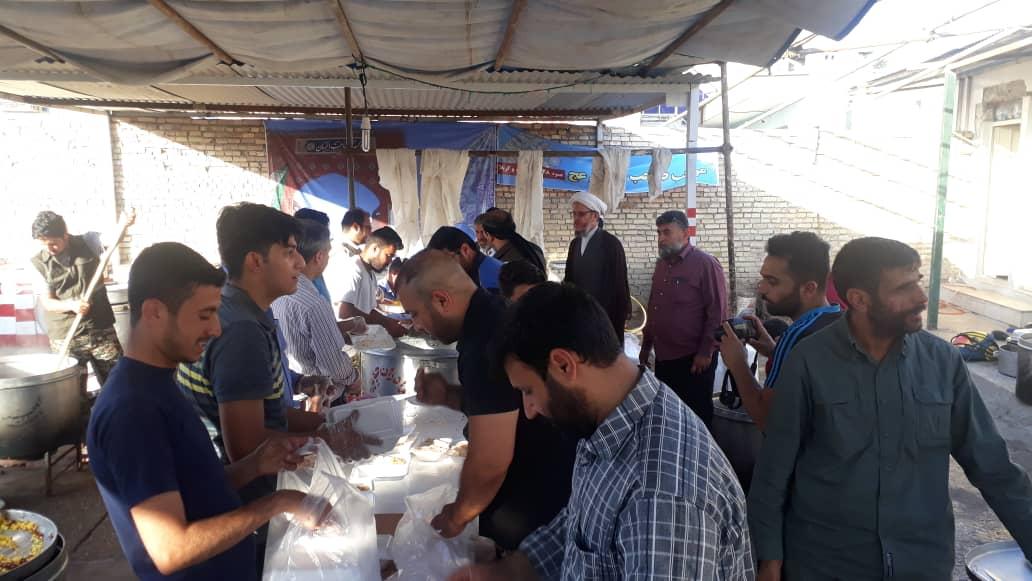 گزارش تصویری/بازدید امام جمعه کارون ازمواکب مستقردرشهرستان 2