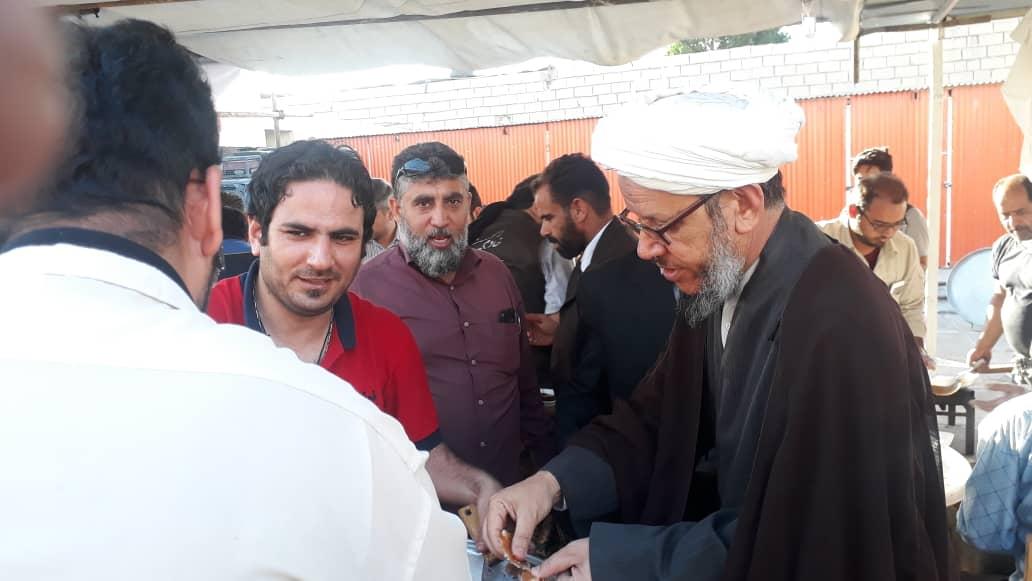 گزارش تصویری/بازدید امام جمعه کارون ازمواکب مستقردرشهرستان 3