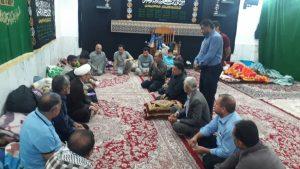 گزارش تصویری/بازدید امام جمعه کارون ازمواکب مستقردرشهرستان 1