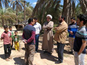 بازدید امام جمعه کارون از روستاهای حاشیه کارون