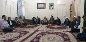 جلسه قرارگاه فرهنگی باحضور امام جمعه،مسئولین استانی و شهرستانی برگزار شد