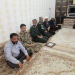 نشست اعضای سپاه هرمزگان با امام جمعه کارون