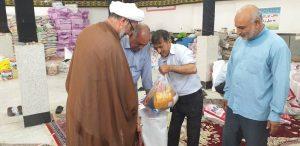 ارسال بسته های غذایی به سیل زرگان روستای چمیان