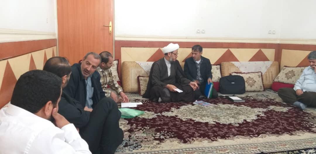 برگزاری جلسه باستادعتبات عالیات تبریز