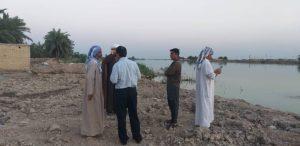 گزارش تصویری/بازدید امام جمعه کارون از سیلزدگان شهرستان