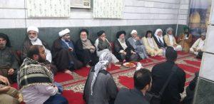 گزارش تصویری/مراسم تجلیل از 40سال خدمات آیت الله جزایری
