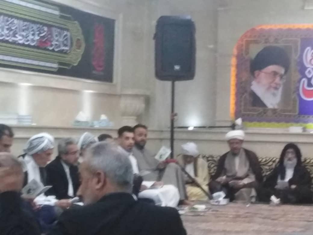 حضور امام جمعه کارون درمراسم افطاری ماه مبارک رمضان