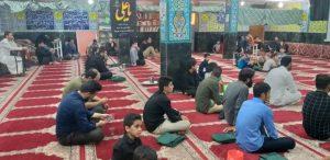 برگزاری مراسم شب قدر