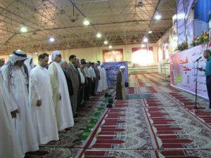 گزارش تصویر/نماز عید سعید فطر در شهرستان کارون