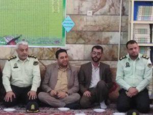 گزارش تصویری/دیدار امام جمعه کارون باخانواده شهدای خدمت بمناسبت عید فطر