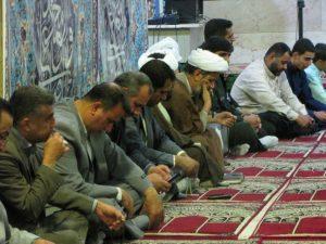 نشست اعضای ستاد نمازجمعه شهرستان کارون بمناسبت چهلمین سال برگزاری نماز جمعه در کشور