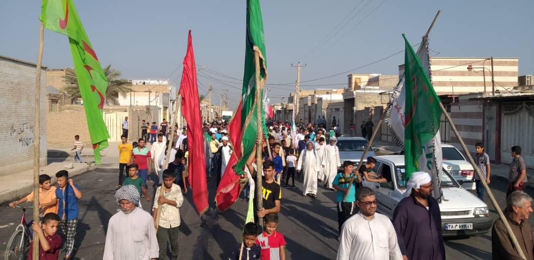 گزارش تصویری/راهپیمایی باشکوه عید غدیر در شهرستان کارون