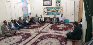 جلسه شواری اداری بمناسبت هفته دولت