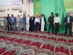 افتتاحیه برنامه های غدیر شهرستان کارون برگزار شد