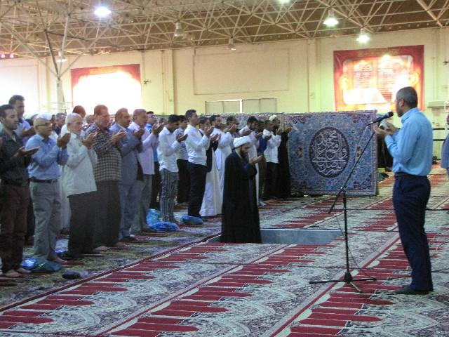 نماز عید قربان در شهرستان کارون برگزار شد