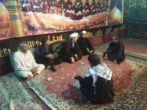 گزارش تصویری/بازدید امام جمعه کارون ازمواکب مستقر در درویشیه