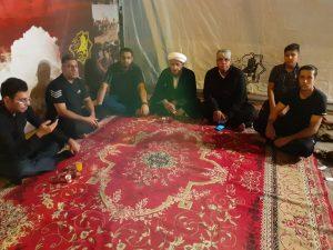 گزارش تصویری/بازدید امام جمعه کارون ازمواکب مستقردرمیدان غدیر