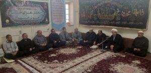 جلسه بنیاد مهدویت شهرستان کارون با حضور امام جمعه کارون برگزار شد