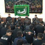 مراسم عزاداری امام حسین (ع) در دفتر امام جمعه کارون برگزاز شد