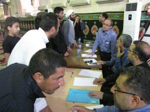 گزارش تصویری/ برگزاری میز خدمت سازمان آب و برق خوزستان