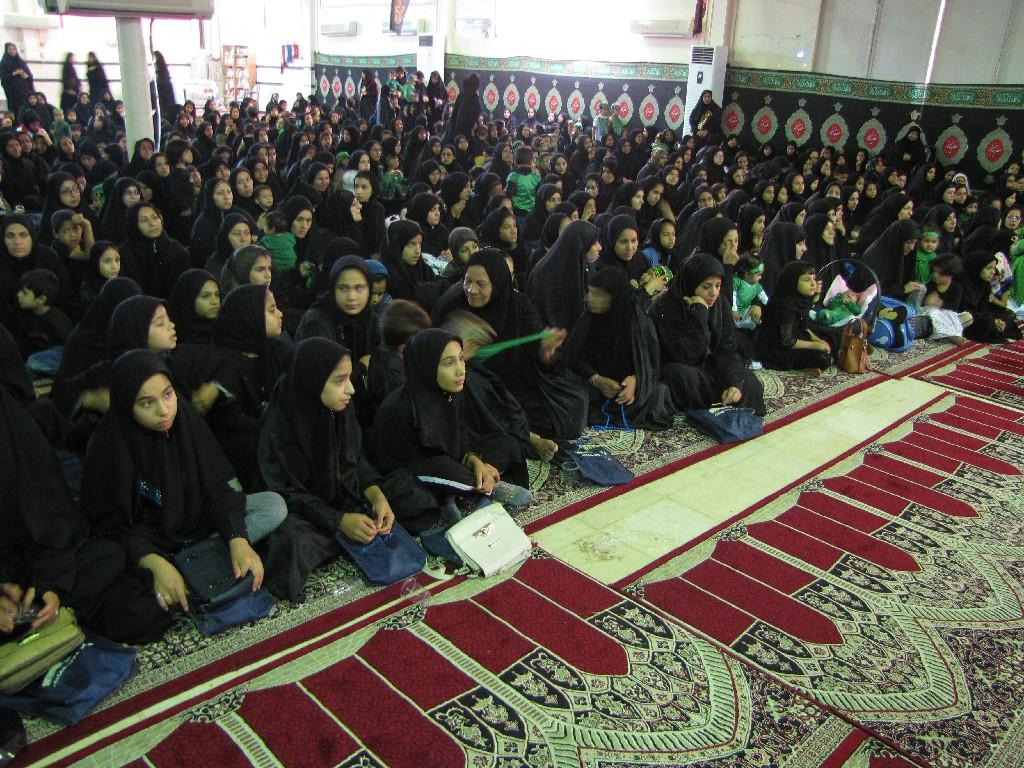 گزارش تصویری/ همایش شیرخوارگان حسینی شهرستان کارون