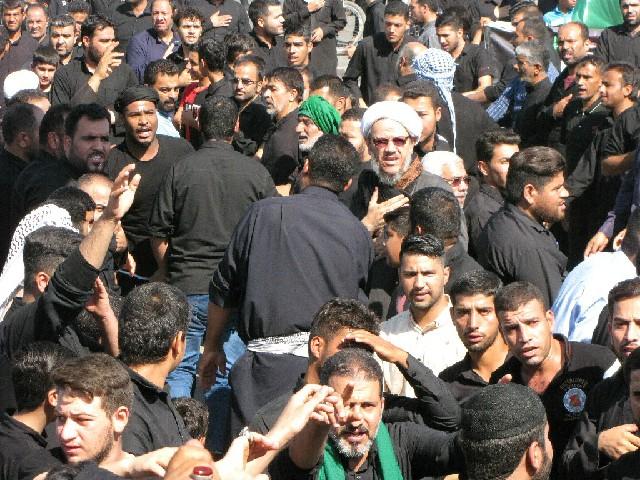 مرسم تاسوعای حسینی در شهرستان کارون برگزار شد