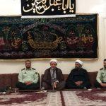 دیدار فرماندهی و جمعی از پرسنل نیروی انتظامی کارون با امام جمعه به مناسبت هفته ناجا