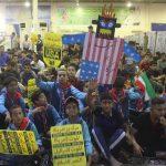 راهپیمایی و تجمع بزرگ استکبارستیزی ۱۳ آبان در شهرستان کارون برگزار شد