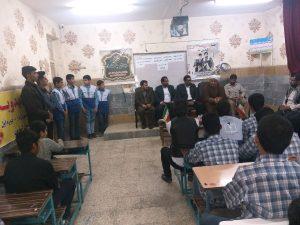 دیدار امام جمعه کارون با دانش آموزان دبیرستان امام خمینی(ره)