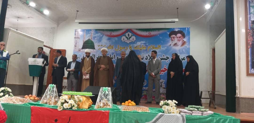 گزارش تصویری/جشن میلاد پیامبر (ص) و امام جعفر صادق (ع )در شهرستان کارون