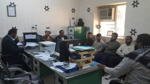 دیدار امام جمعه کارون با دانش آموزان دبیرستان امام خمینی (ره)یک