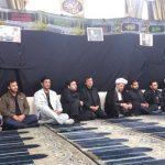 مراسم عزاداری سردارسلیمانی دربین دانشجویان دانشکده نفت کارون