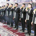 اجرای گروه سرود خدام الزهراء(س)در نماز جمعه کارون