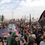 مراسم عزاداری و پیاده روی فاطمیه(المسيرة الفاطمية)شهرستان کارون