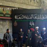 مراسم سوگواری شهادت حضرت فاطمه زهرا(س) در مسجد امام علی(ع)قلعه چنعان