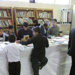 گزارش تصویری/ اهداء و مبادله کتب رایگان درکتابخانه مصلی
