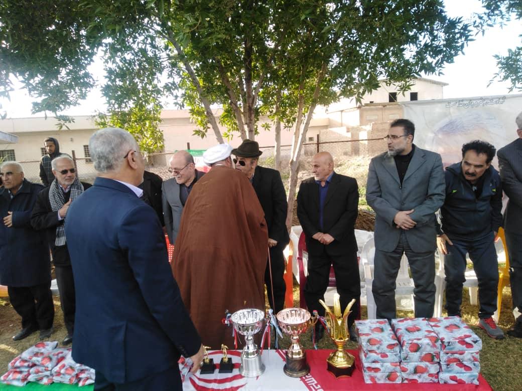 دیدار امام جمعه کارون با پیشکسوتان فوتبال شهرستان