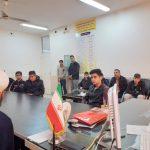 نشست مسئول ستاد با دانش آموزان مدرسه شهید بنی طرفی