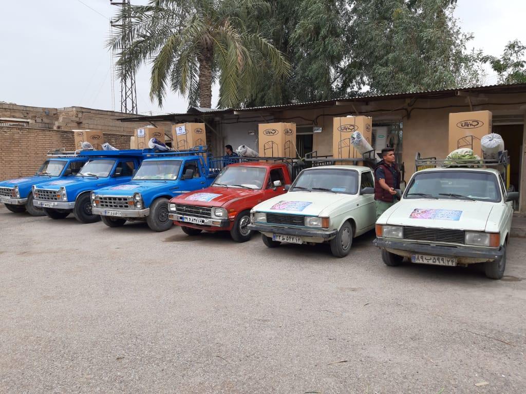 ۱۰ سری جهیزیه به نوعروسان کمیته امداد شهرستان کارون اهدا شد