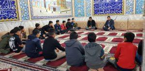 گزارش تصویری/جلسه مسئول ستاد با گروه سرود الزهرائیون