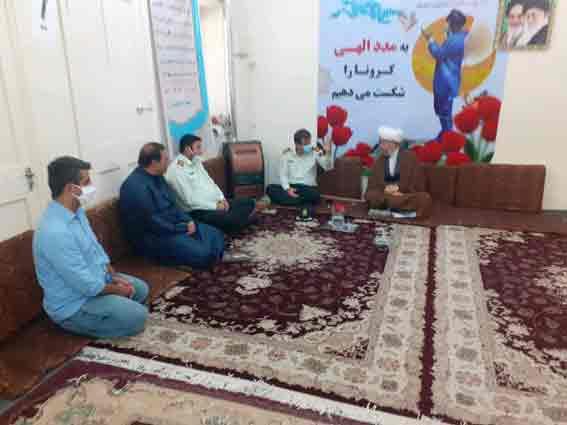 گزارش تصویری/دیدار فرمانده انتظامی شهرستان کارون با امام جمعه
