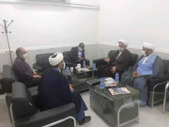 نشست امام جمعه شهرستان کارون با مسئول اداره تبلیغات اسلامی