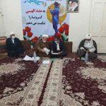 دیدار رئیس مجمع نمایندگان خوزستان با امام جمعه شهرستان کارون