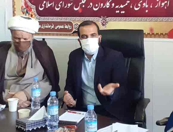 گزارش تصویری/جلسه شورای اداری شهرستان کارون